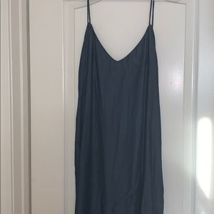 New with tags! Zara denim maxi dress